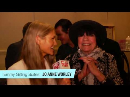 Jo Anne Worley at the Daytime Emmy gifting suites