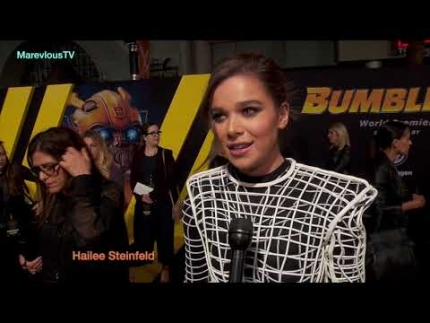 "Hailee Steinfeld at the ""BUMBLEBEE"" world premiere"
