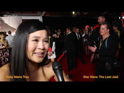 Star Wars actress 'Kelly Marie Tran' talks about The Last Jedi on FabTV