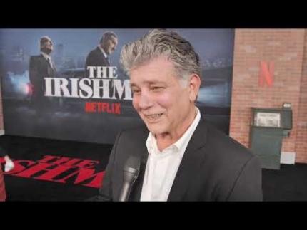 "Steven Zaillian writer of the ""The Irishman"""