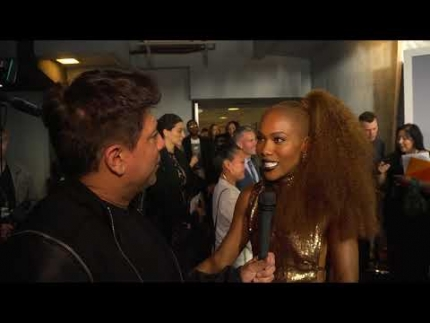 "DeWanda Wise at the new ""TWILIGHT ZONE"" on CBS premiere on FabTV"