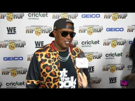 """Growing Up Hip Hop"" red carpet with  Master P"