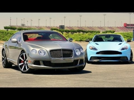 2014 Aston Martin Vanquish vs 2013 Bentley Continental GT Speed! - Head 2 Head Ep. 38