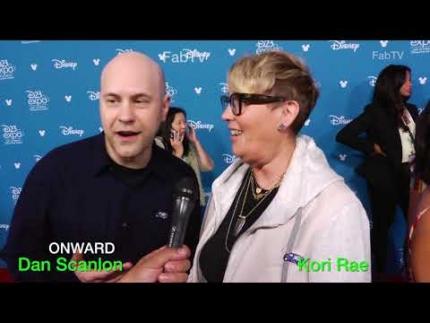 """Dan Scanlon & Kori Rae talk about """"ONWARD"""""""