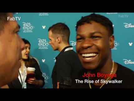 "Star Wars: John Boyega reacts about his role in ""The Rise of Skywalker"""