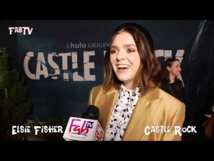 "Actress 'Elsie Fisher' talks about ""Castle Rock"""
