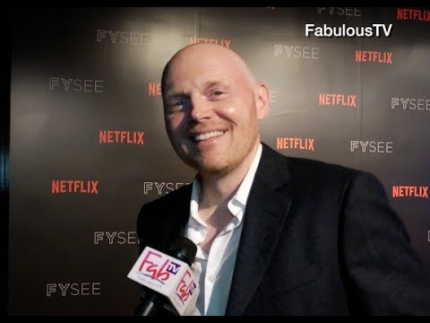 Bill Burr at Netflix FYSEE Comedy Panel on FabulousTV