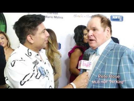 "Pete Rose  ""Hit King"" on FabTV"