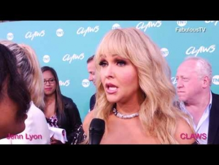 Jenn Lyon at the 'CLAWS' premiere on FabulousTV