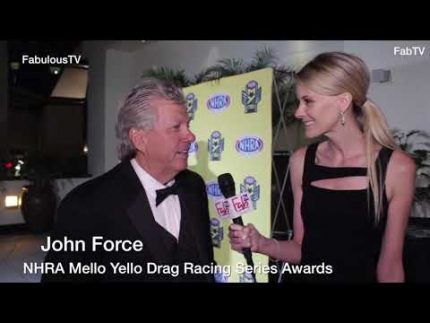 John Force at the 'NHRA Mello Yello Drag Racing Series Awards'