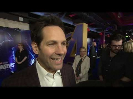 Avengers: Endgame UK premiere with Paul Rudd Ant-Man