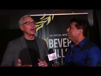 Dr. Drew at the Beverly Hills Film Festival 2018