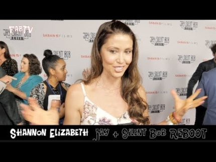 "Shannon Elizabeth  ""Jay & Silent Bob REBOOT""  premiere"