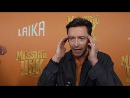 Missing Link premiere with  Hugh Jackman