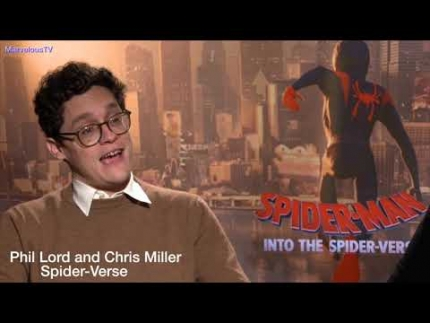 "Phil Lord & Chris Miller talk about  Stan Lee  & ""Spider-Verse"""