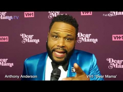 Anthony Anderson at VH1's 'DEAR MAMA' red carpet on FabTV