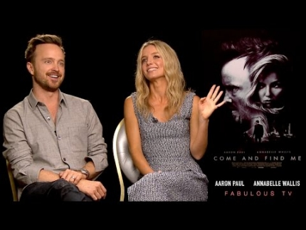 Aaron Paul & Annabelle Wallis talk about 'Come and Find Me' on FabulousTV