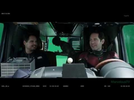 """Ant-Man & The Wasp"" the comedy 'behind the scenes'..."