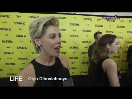 'LIFE' premiere SXSW with Olga Dihovichnaya on FabulousTV