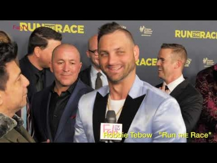 "Robbie Tebow talks about ""Run the Race""  movie"