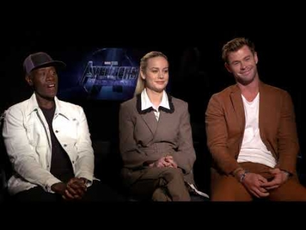 Avengers Endgame  w/ Brie Larson , Chris Hemsworth & Don Cheadle