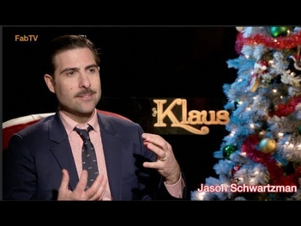 "Jason Schwartzman details his voice skills in ""KLAUS"""
