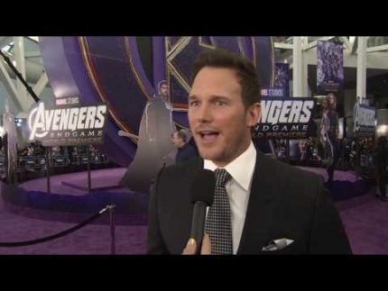 """AVENGERS ENDGAME"" PREMIERE with CHRIS PRATT"