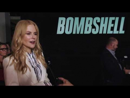"""BOMBSHELL"" RED CARPET NICOLE KIDMAN"