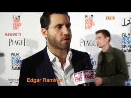 Edgar Ramirez at the 2017 'Spirit Awards' nominations on FabulousTV