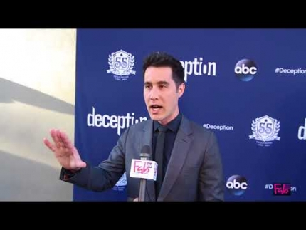 David Kwong at the 'Deception' red carpet at the MAGIC CASTLE