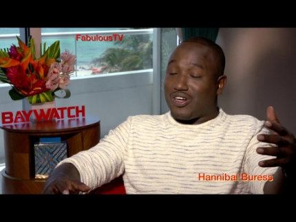 Hannibal Buress discusses 'Baywatch' on FabulousTV