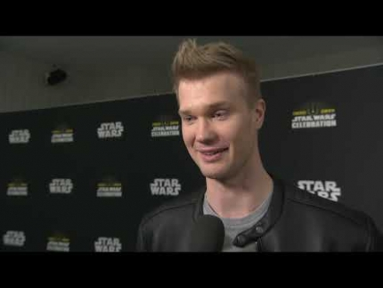 Chewbacca @  STAR WARS CELEBRATION CHICAGO 2019  Joonas Suotamo