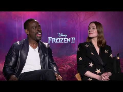 "Sterling K. Brown & Evan Rachel Wood detail ""Frozen 2"""