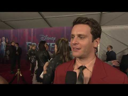 "JONATHAN GROFF at the ""FROZEN 2""  RED CARPET & PREMIERE JONATHAN GROFF"