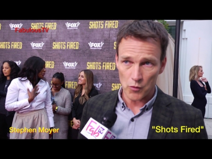 Stephen Moyer at 'Shots Fired' FYC event on FabulousTV