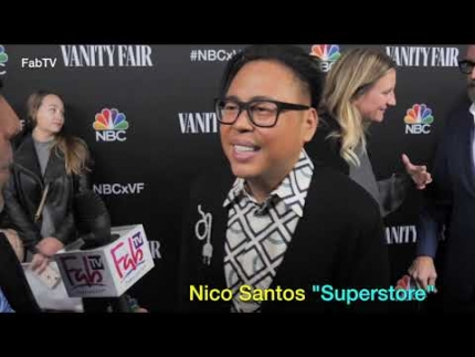 "Nico Santos of ""SUPERSTORE""  loves the show on Holidays"
