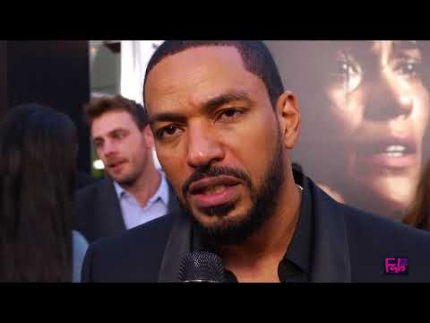 Laz Alonso at the TRAFFIK premiere