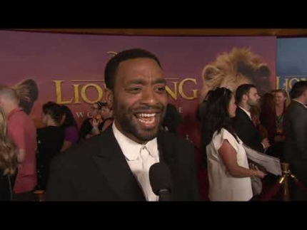 "world premiere ""LION KING""  ""CHIWETEL EJIOFOR"""