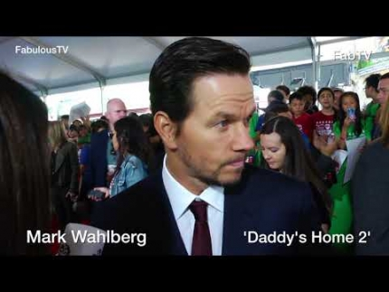 Mark Wahlberg at 'Daddy's Home 2' premiere