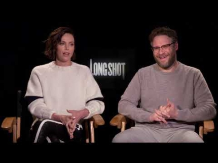 "Seth Rogen & Charlize Theron talk about the ""Long Shot"""