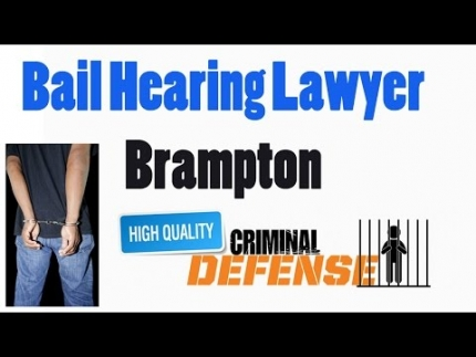 Bail Hearing Lawyer Brampton - Saggi Law Firm | Call Us at:(647-983-6720)
