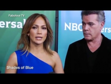 Jennifer Lopez & Ray Liotta talks about \'SHADES OF BLUE\' on...