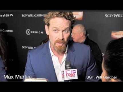 "Max Martini attends the ""SGT. Will Gardner"" premiere at ArcLight Hollywood"