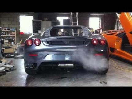 Ferrari F430 replica kitcar by v-design part 3 HD