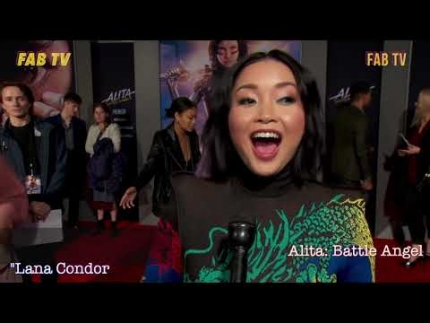 Lana Condor stuns at Alita: Battle Angel  premiere