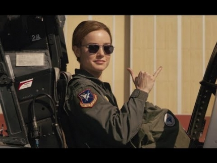 Captain Marvel 'Combat Training'  Featurette with Brie Larson
