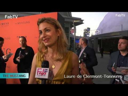 "Director: Laure de Clermont Tonnerreat ""THE MUSTANG""  premiere"