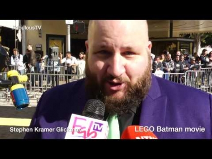 Stephen Kramer Glickman talks about LEGO Batman movie