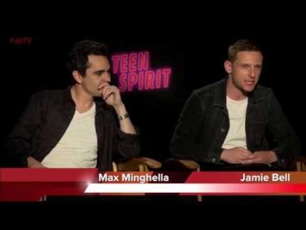"Director: Max Minghella  & EP Jamie Bell detail ""TEEN SPIRIT"""