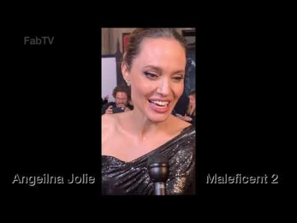 "Exclusive! ANGELINA JOLIE   ""Maleficent: Mistress of Evil"" world premiere"